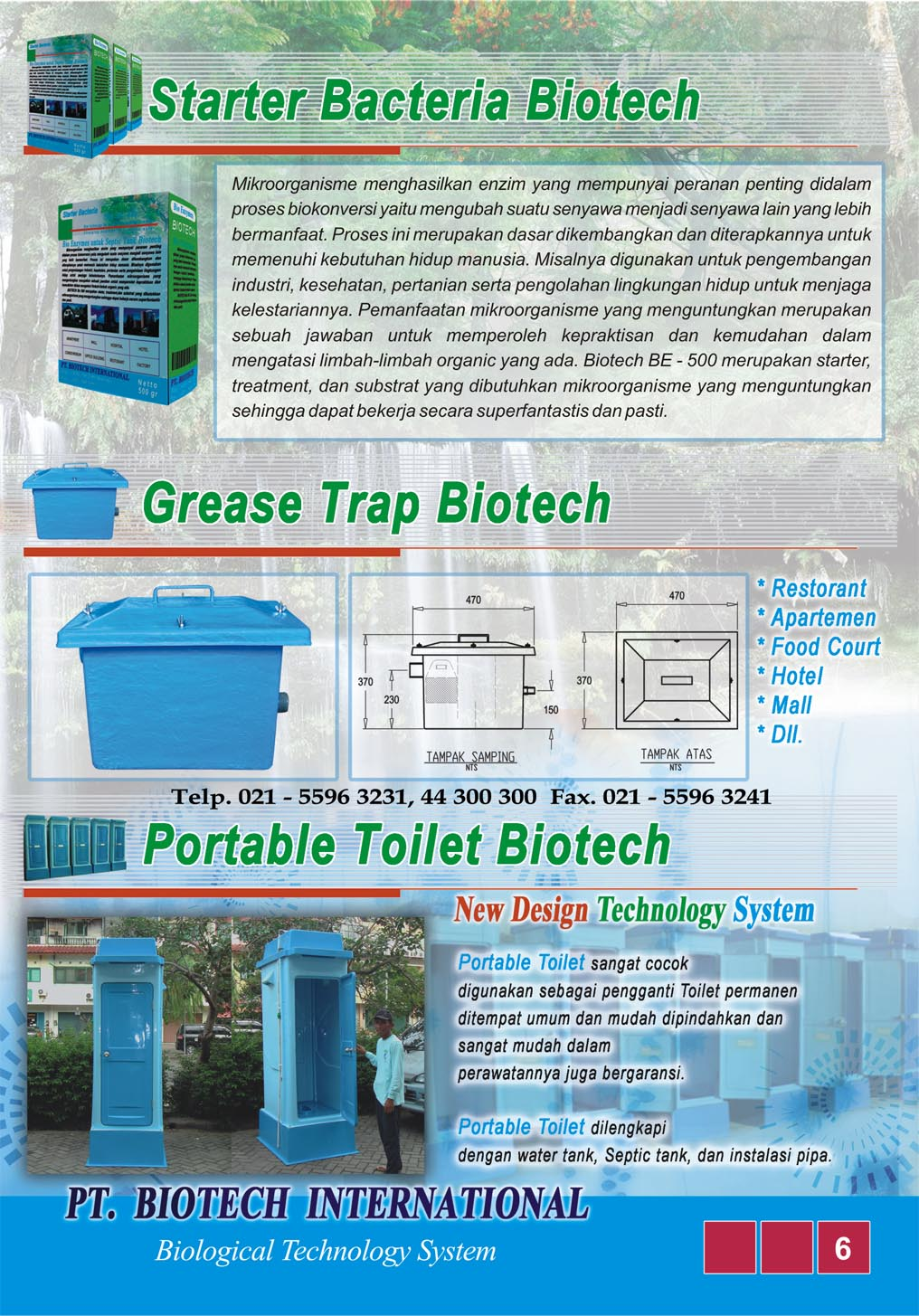 PORTABLE TOILET BIOTECH, FLEXIBLE TOILET, WC OUT DOOR, BUBUK BAKTERI PENGURAI TINJA, WC SEMENTARA