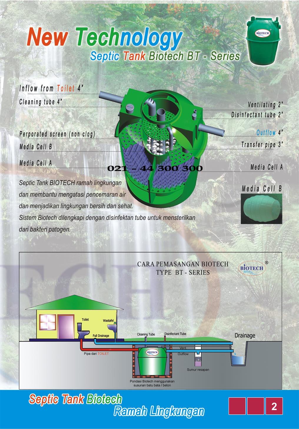 septic tank biotech, cara pasang biotech septic tank