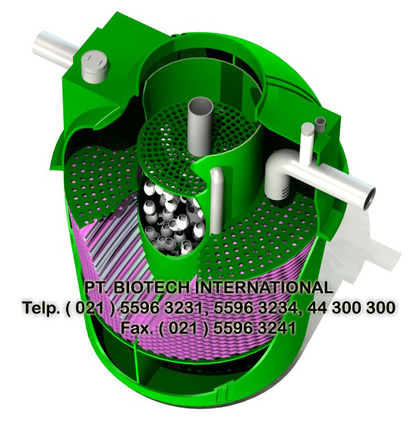 biotech septic tank type bt series