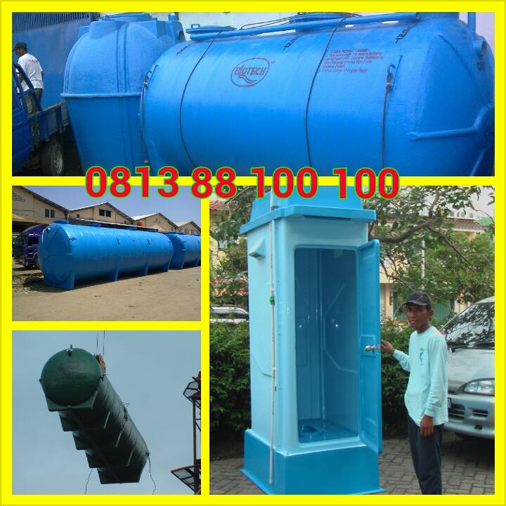 stp biotech, sewage plant, septic tank biotech modern dan ramah lingkungan, toilet portable