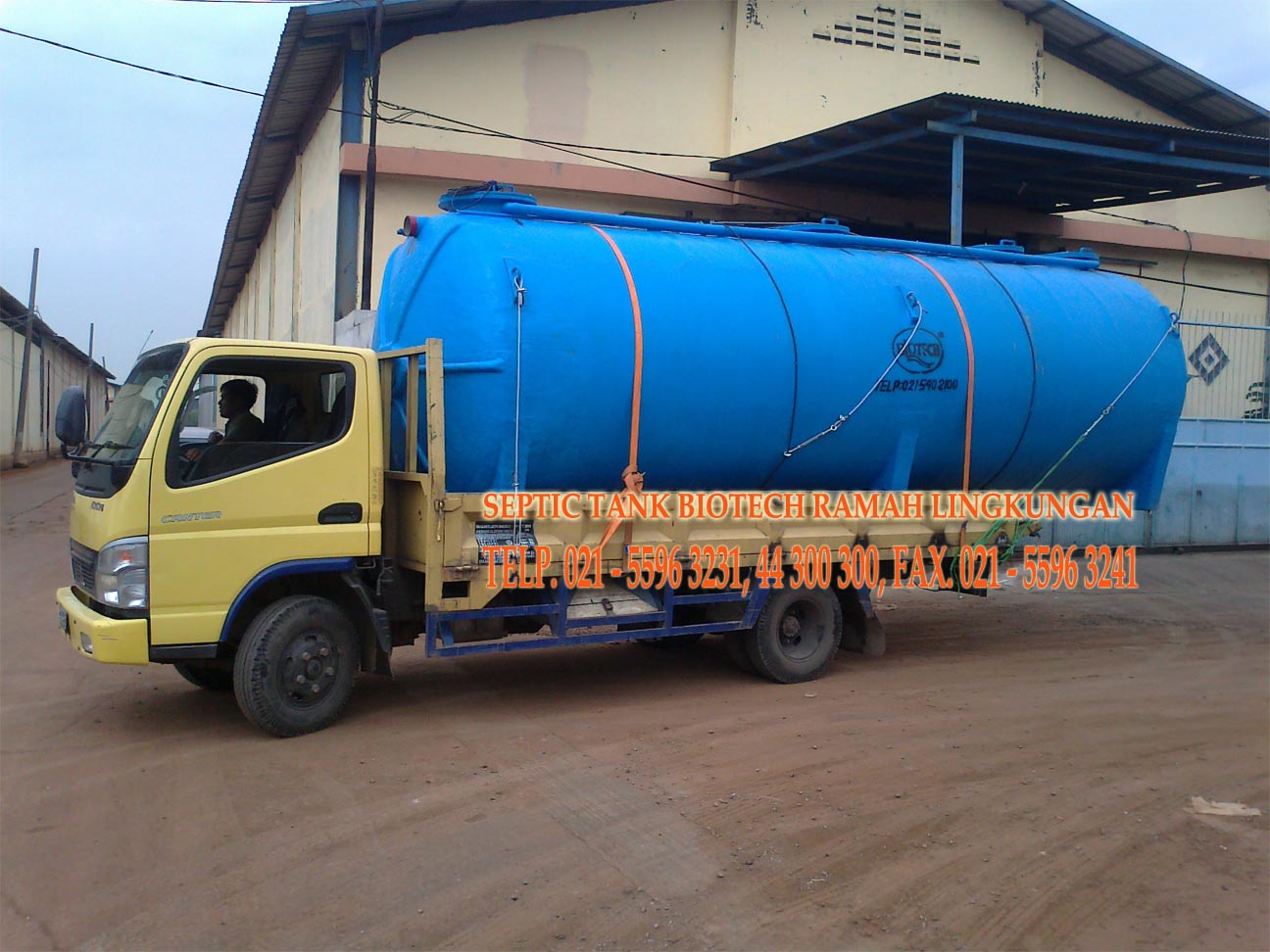 SEPTIC TANK BIOTECH, IPAL BIOTEK, BIOTECH INTERNATIONAL, GREASE TRAP, PORTABLE TOILET, ATAP FIBREGLASS