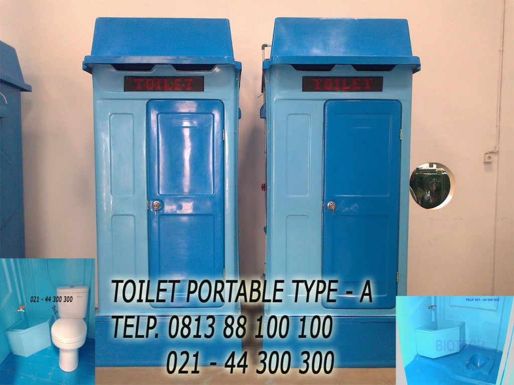 toilet portable fibreglass, flexible wc, wc darurat, urinoir, closet duduk, wc jongkok
