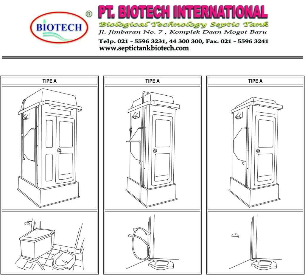 Portable Toilet fiberglass
