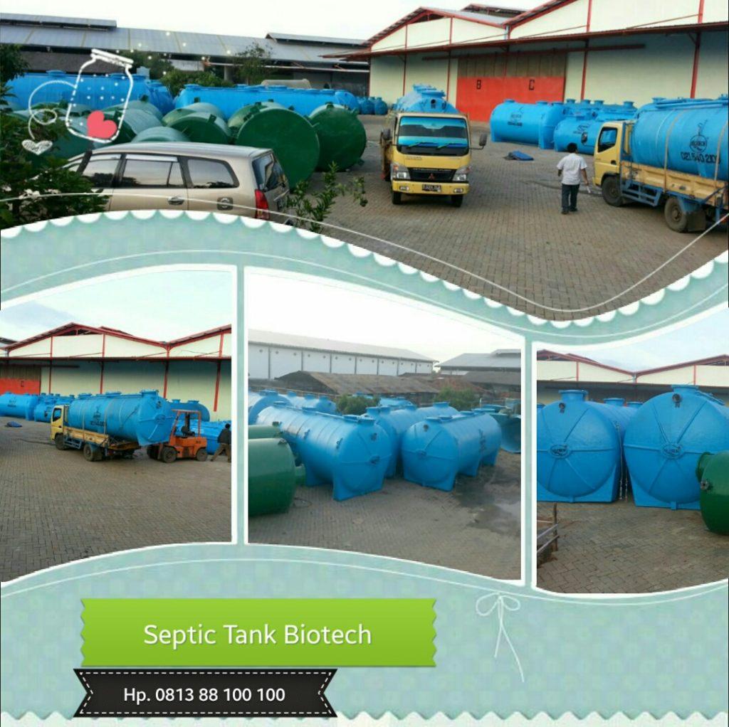 pabrik septic tank biotech, cara kerja septic tank